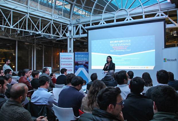 Презентация бизнес-акселератора Start-Up Chile