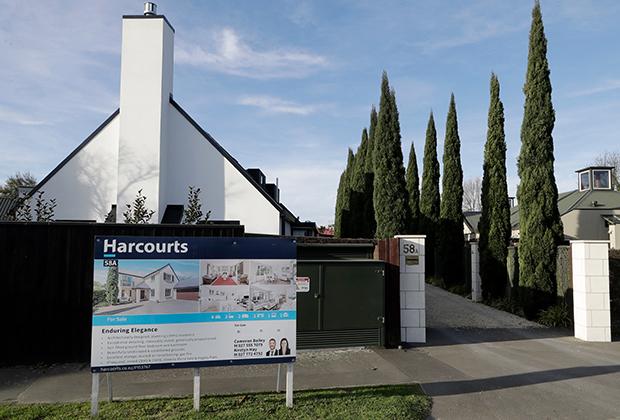 Дом, выставленный на продажу в Новой Зеландии