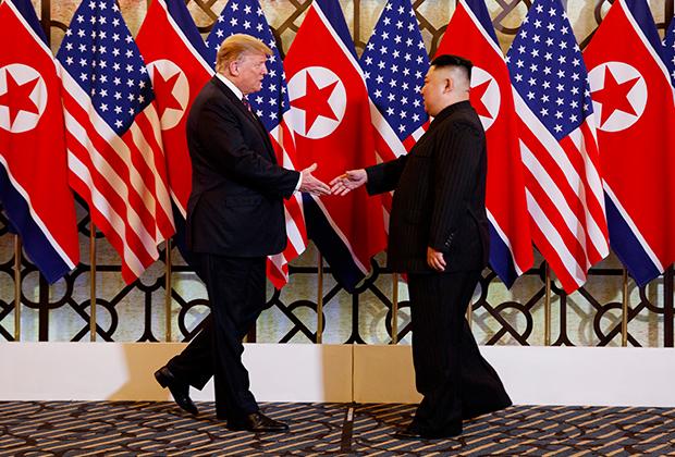 Дональд Трамп и Ким Чен Ын
