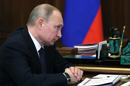 Кремль отреагировал на идею США раскрыть доходы Путина Перейти в Мою Ленту