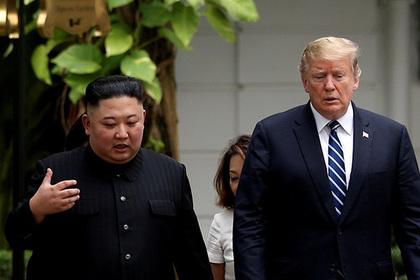 Северная Корея рассказала о страсти и решимости Трампа и Ким Чен Ына