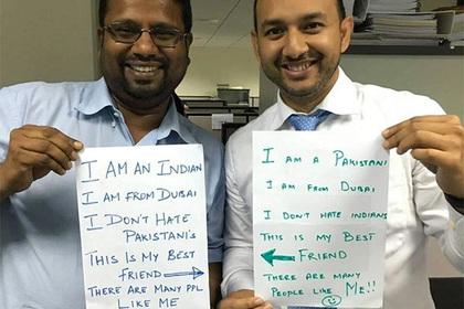 Дружба пакистанца и индийца на фоне вражды их стран растрогала соцсети