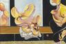 Выбор этих героев легко объясним: анимационное телешоу, которое идет уже без малого 30 лет, стало неотъемлемой частью массовой культуры не только за рубежом, но и в России. Доминирование «Симпсонов» в общественном сознании настолько мощное, что сторонний человек может сразу же понять, что перед ним голая Мардж Симпсон, не зная при этом, что за основу Савко взял портрет Иды Рубинштейн кисти Валентина Серова или полотно Фрэнсиса Бэкона.