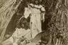 Индейские девушки на плато Кайбаб, что на берегу реки Колорадо. 1873 год.