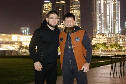 Хабиб Нурмагомедов и Рамзан Кадыров