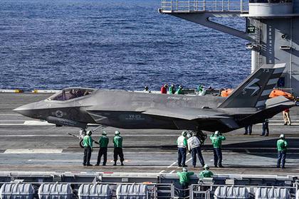 Американские F-35C приготовились воевать