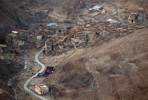 Село Галиат в Дигорском ущелье