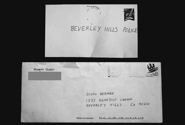 Первое было прислано в полицию Беверли-Хиллз после убийства Сьюзан Берман, второе ей отправил Роберт Дерст.