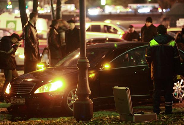 Расстрелянный Mercedes Калмановича