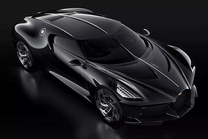 Представлен самый дорогой в истории автомобиль