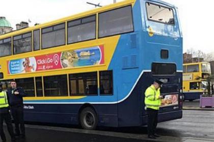 Пассажирка остановила неуправляемый автобус и спасла водителя