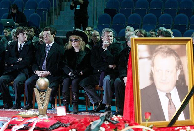 Церемония прощания с Шабтаем Калмановичем