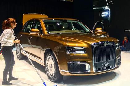 РФ представила на автомобильном салоне вЖеневе машины семейства Aurus