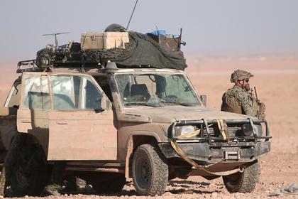 США оставят войска неподалеку от позиций армии Асада