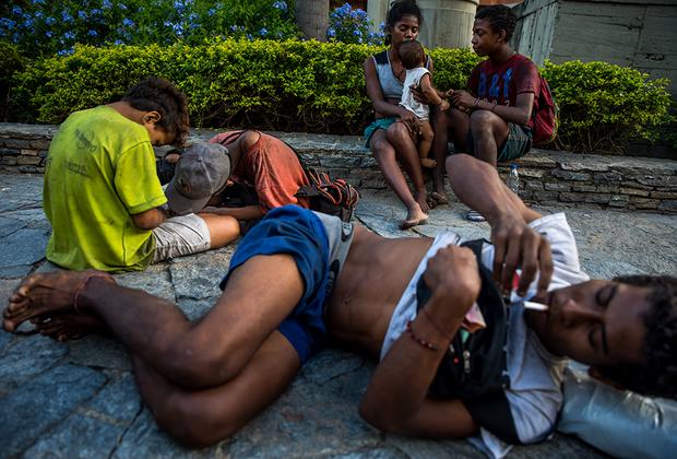 Дети на улицах Каракаса