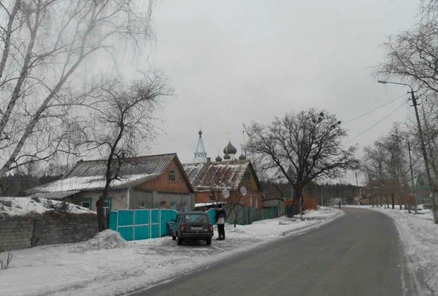 Типичное село украинского Донбасса