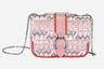 Экзотический принт под кожу рептилии, трендовая цепочка через плечо и классическая пряжка на розовом ремешке: эта модель обещает стать хитом сезона.