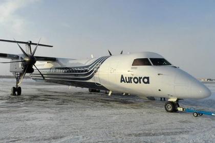 На Чукотке самолет с пассажирами выкатился за пределы посадочной полосы