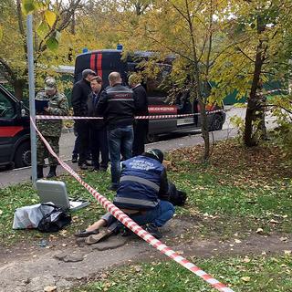 На месте убийства следователя Евгении Шишкиной в Красногорском районе