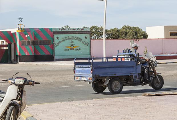 Такой транспорт популярен в Марокко.