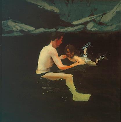 Майкл Эндрюс «Мы с Мелани плаваем», 1978-1979 гг.