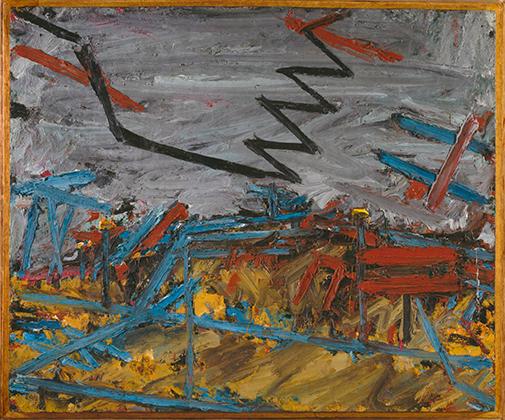 Фрэнк Ауэрбах «Примроуз Хилл», 1967-1968 гг.