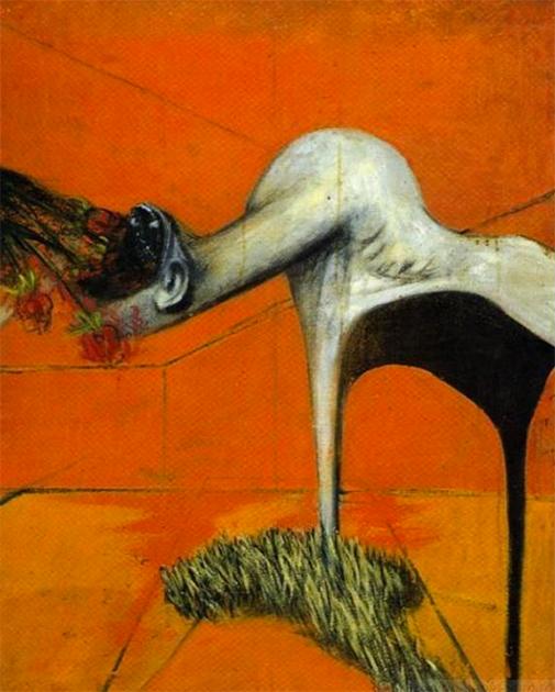 Фрэнсис Бэкон «Этюд к триптиху у подножия распятия»