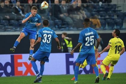 «Зенит» на своем поле проиграл в плей-офф Лиги Европы