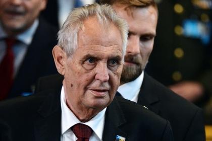 Президент Чехии возмутился отказом российскому дипломату во въезде