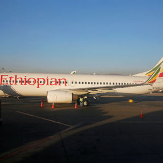 Boeing 737-800 Ethiopian Airlines (архивное фото)
