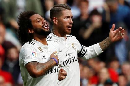 Футболисты «Реала» поругались на тренировке