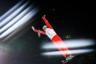 Российская спортсменка Любовь Никитина во время соревнований по фристайлу в лыжной акробатике среди смешанных команд. Выступления проходили в кластере «Сопка» — состоящий из семи объектов, он предназначен для соревнований и тренировок по сноуборду, фристайлу, хафпайпу.
