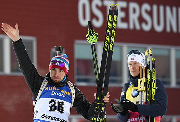 Йоханнес Бе (справа) и Александр Логинов