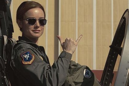 Нереальный боевик «Капитан Марвел» возглавил русский кинопрокат по результатам выходных