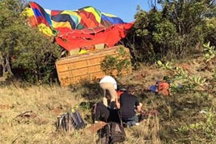 Неопытный пилот убил туристку и покалечил пассажиров воздушного шара