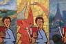 Как вспоминают художники, в 1973 году они наведались к Оскару Рабину с предложением организовать выставочную деятельность. Лидер нонконформистов того времени начал возражать, дескать, надо переждать, бессмысленно бодаться с дубом… — Наоборот. Время как раз самое подходящее. — Это еще почему? — Потому, что появились мы. Наши работы требуют выставки.