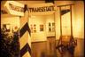 Перед отъездом в эмиграцию, художники осуществили несколько проектов, в том числе перевод статьи советской Конституции, гарантирующей свободу слова, на язык абстрактного искусства, где каждой букве соответствовала цветная точка, а также изложили автобиографии на выдуманном языке. Они создали государство TransState, с собственной валютой, паспортами и  Декларацией независимости.