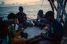 Развлечений на борту не очень много — карты, сигареты и долгие беседы.