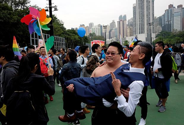 Гей-парад в Китае