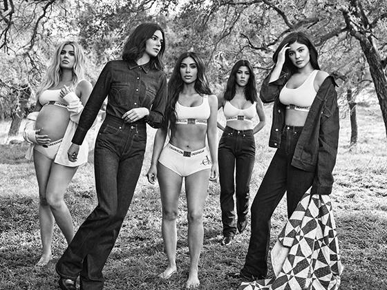 Клан Дженнер/Кардашьян в рекламе Calvin Klein Underwear — главного «кормильца» бренда наряду с Calvin Klein Jeans.