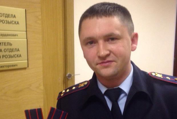 Майор Илья Щукин