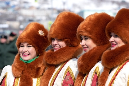 Участницы фестиваля «Крымская весна»