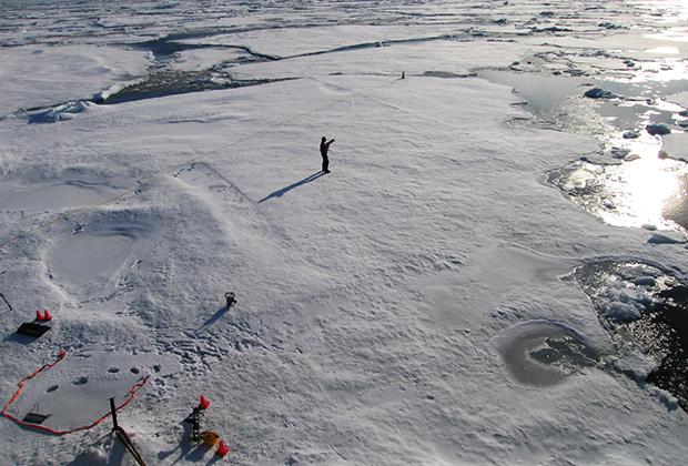 Ученые изучают причины таяния льда в Арктике