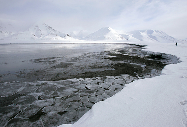 Ранняя оттепель в Норвегии