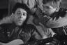 Одной из центральных тем в фильмах Хуциева на протяжении всей его карьеры было самопожертвование поколения, которое предшествовало его собственному и выиграло Великую отечественную войну. Тем интереснее, что в своем единственном военном фильме режиссер не стал напрямую пытаться представить пережитые этим потерянным поколением лишения и подвиги. Разворачивающийся в первые послевоенные дни на немецкой ферме, где расквартирован полк советских солдат, «Был месяц май» вместо этого осмеливается завести разговор об ужасах концлагерей, скрещивая постановочные кадры и документальную хронику и добиваясь эффекта, не менее сокрушительного, чем, например, у Алена Рене в эпохальной картине «Ночь и туман».
