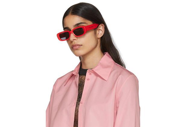 Солнцезащитные очки Off-White «For your eyes only», из-за которых Абло обвинили в плагиате.