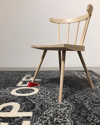 Разработанный Абло специально для Ikea стул, который также посчитали плагиатом.