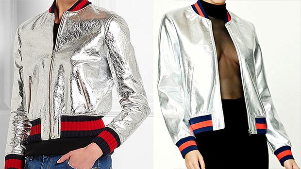 Слева — оригинал Gucci, справа — вариация на тему от Forever 21.