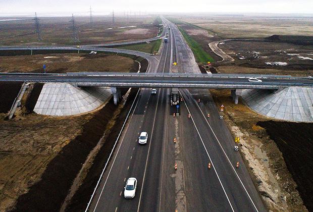 Трасса «Таврида» в Крыму