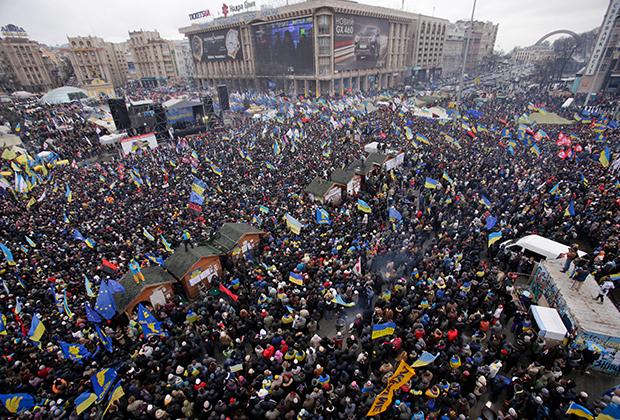 Евромайдан, 2014 год